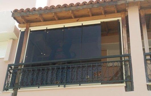 renkli cam balkon