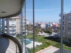 oval katlanır cam balkon