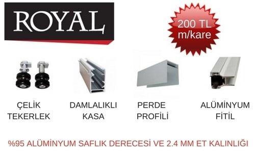 royal seri cam balkon