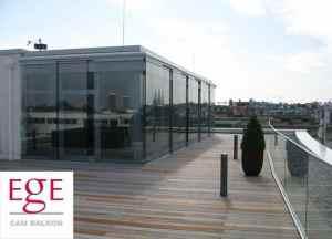 sürgülü cam balkon sistemi