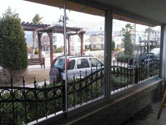 sürgülü cam balkon