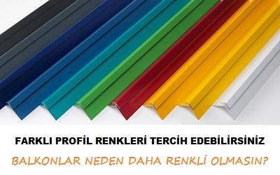 alüminyum renkleri