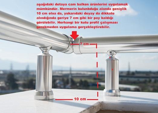 cam balkon uygulama alanları