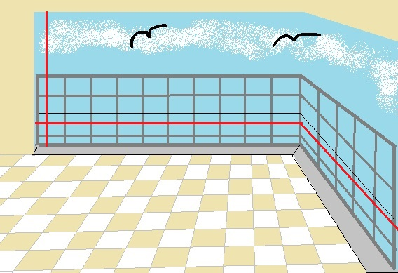 cam balkon ölçüsü alma