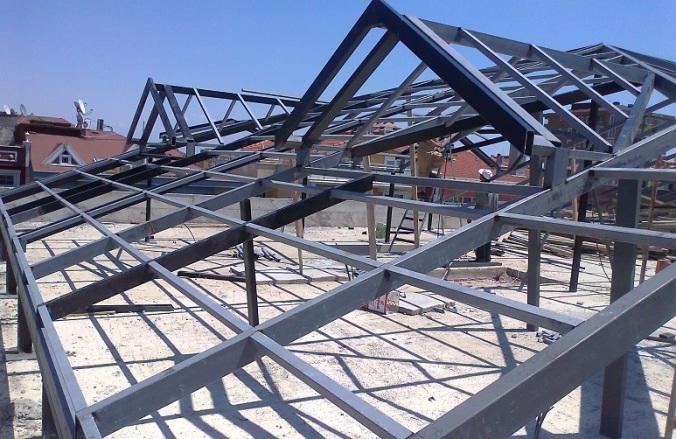 demir çatı