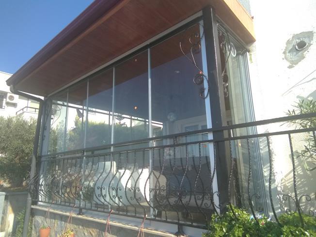 balkon camlama uygulaması