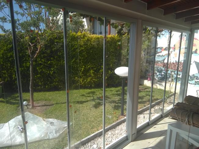 sürme cam balkon uygulaması