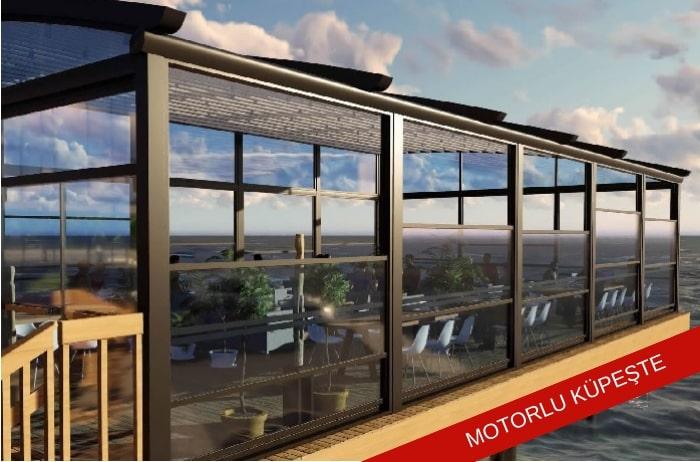 elektrikli cam balkon