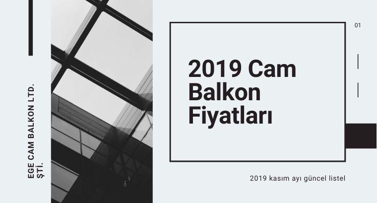 Cam Balkon M2 Fiyatları 2019 – Kasım GüncelListe